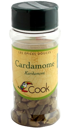 cardamome fruits epices bio
