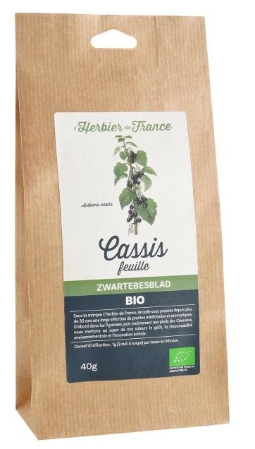 Tisane feuilles de cassis bio en ligne